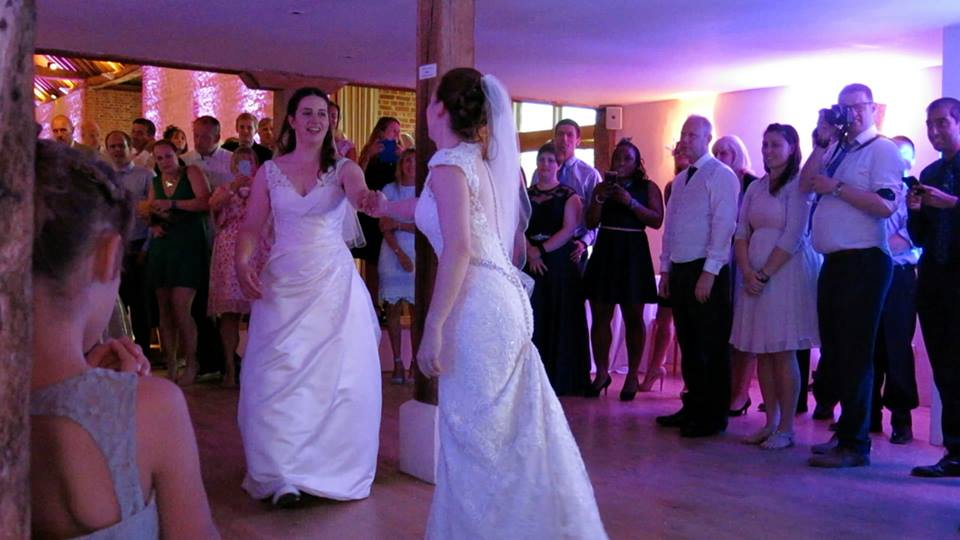 First Dance - Bury Court Barn