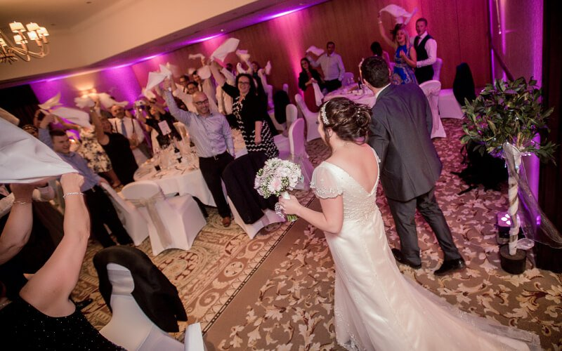 Dine, Dance & Celebrate Wedding DJ Package