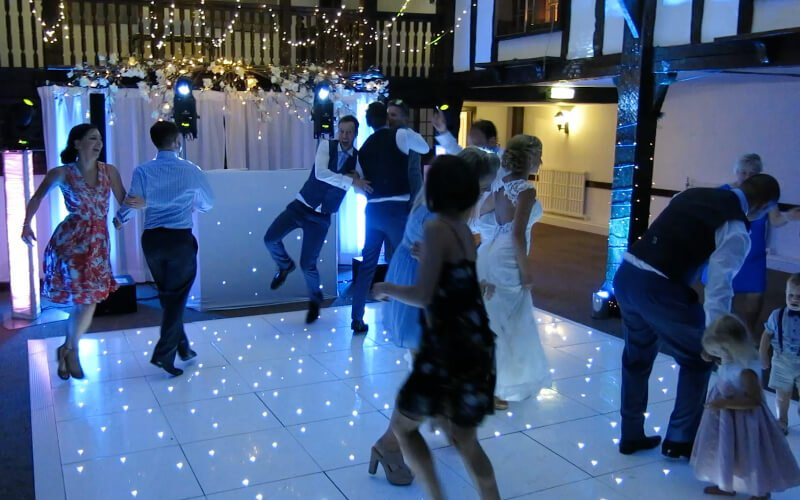 Burford Bridge LED Starlit Dance Floor Hire