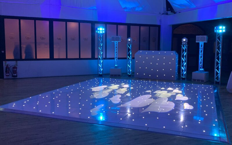 Sphere Entertainments Starlit Dance Floor Hire