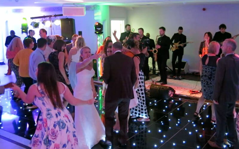 Froyle Park - Black Starlit Dance Floor Hire