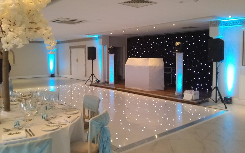 Froyle Park LED Starlit Dance Floor Hire