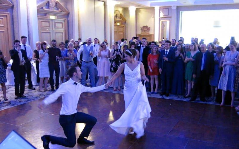 Grand Hotel Brighton Wedding DJ and a Fantastic Enhancement