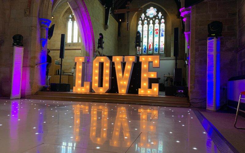Fantastic Enhancements | LOVE Letter Hire Near Me