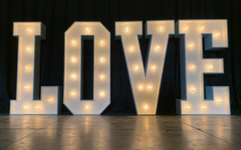LOVE Letter Hire are Fantastic Enhancements