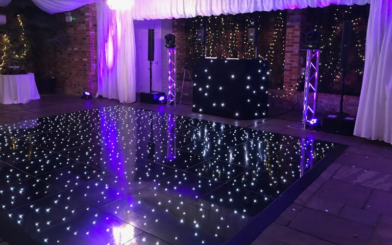 Northbrook Park LED Starlit Dance Floor Hire