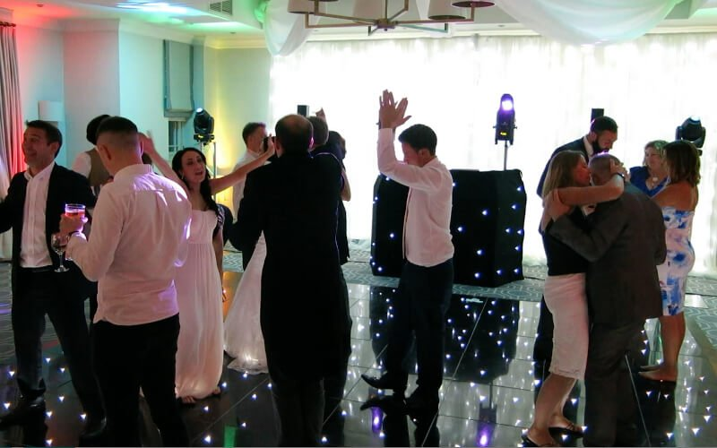 Wotton House LED Starlit Dance Floor Hire