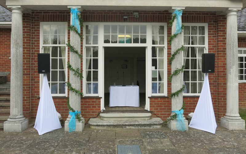 Ceremony Microphone Hire - Warbrook House | Fantastic Enhancement
