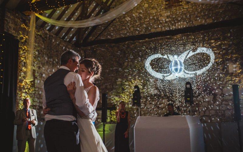 Monks Barn Hurley Wedding DJ & A Fantastic Enhancement